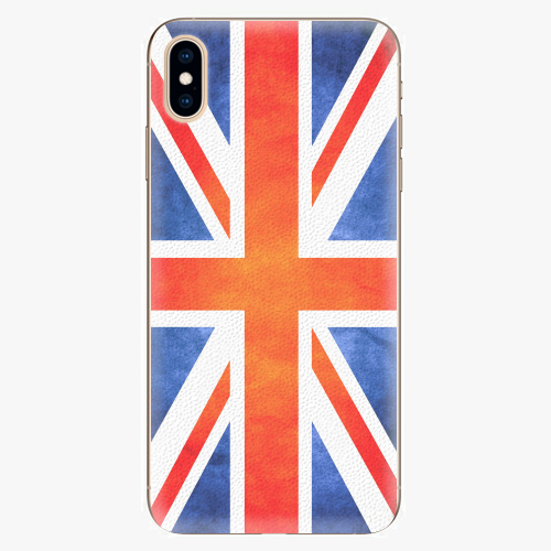 Plastový kryt iSaprio - UK Flag - iPhone XS Max
