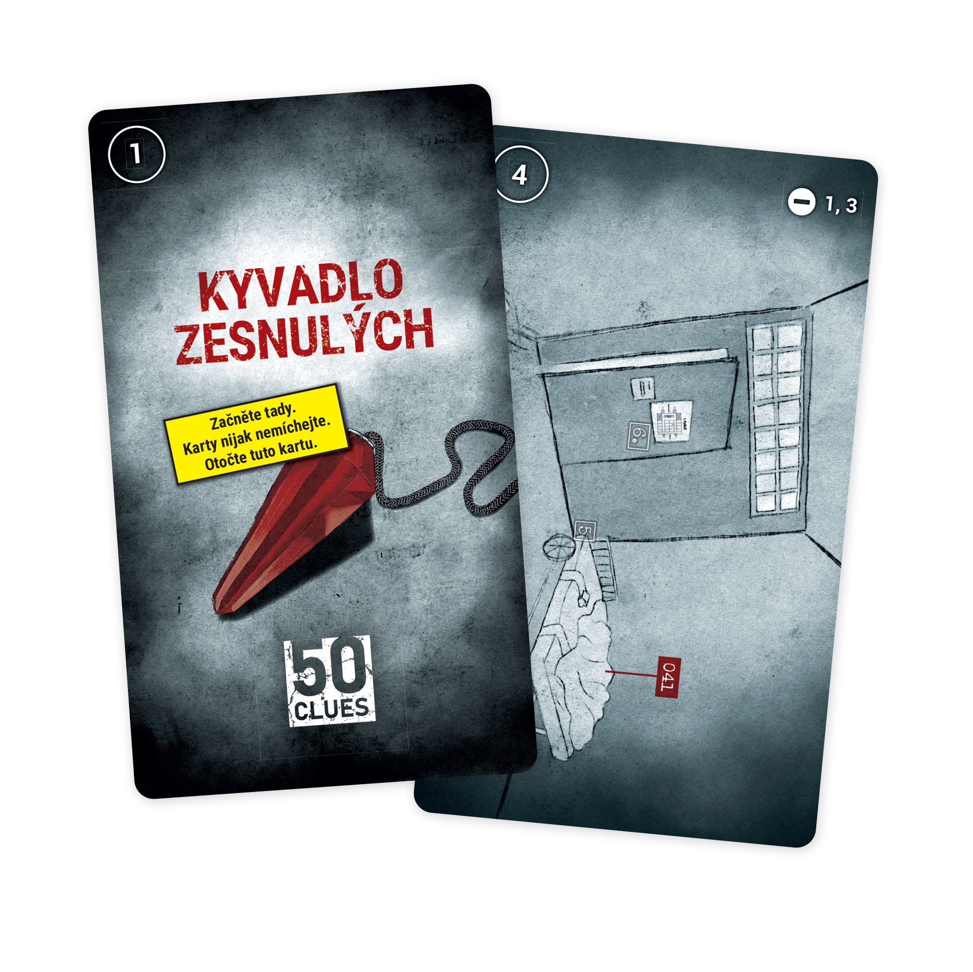 Detektivní únikovka - Leopold 1. díl