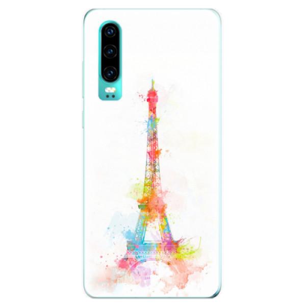Odolné silikonové pouzdro iSaprio - Eiffel Tower - Huawei P30