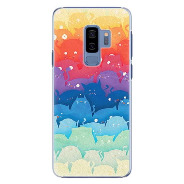 Plastové pouzdro iSaprio - Cats World - Samsung Galaxy S9 Plus