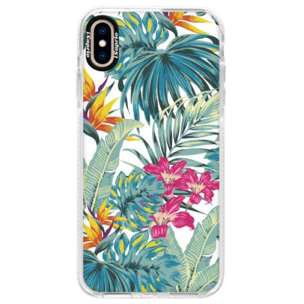 Silikonové pouzdro Bumper iSaprio - Tropical White 03 - iPhone XS Max