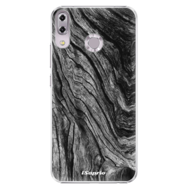 Plastové pouzdro iSaprio - Burned Wood - Asus ZenFone 5 ZE620KL