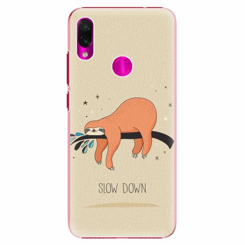 Plastový kryt iSaprio - Slow Down - Xiaomi Redmi Note 7