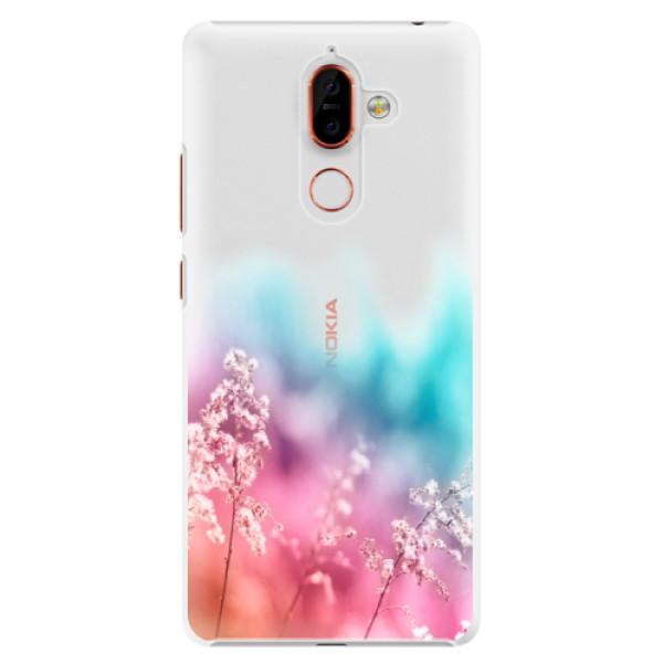 Plastové pouzdro iSaprio - Rainbow Grass - Nokia 7 Plus