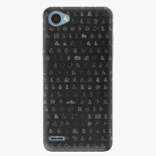Plastový kryt iSaprio - Ampersand 01 - LG Q6