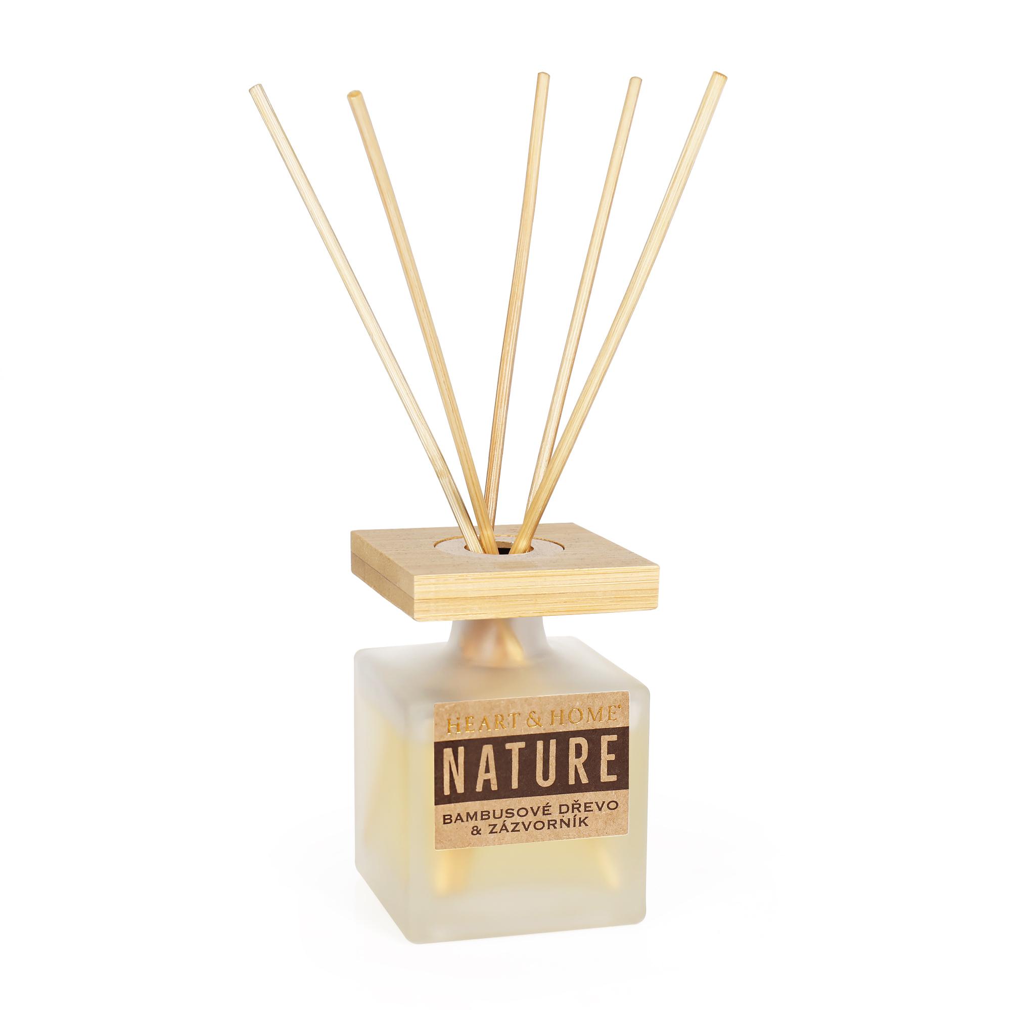 Difuzér - Bambusové dřevo a zázvorník