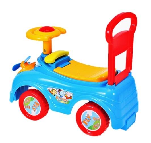 Tulimi Dětské odstrkovadlo, odrážedlo, jezdítko Auto s vrtulkou