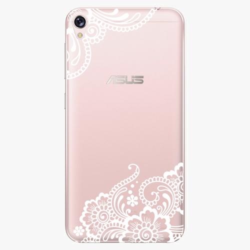 Plastový kryt iSaprio - White Lace 02 - Asus ZenFone Live ZB501KL