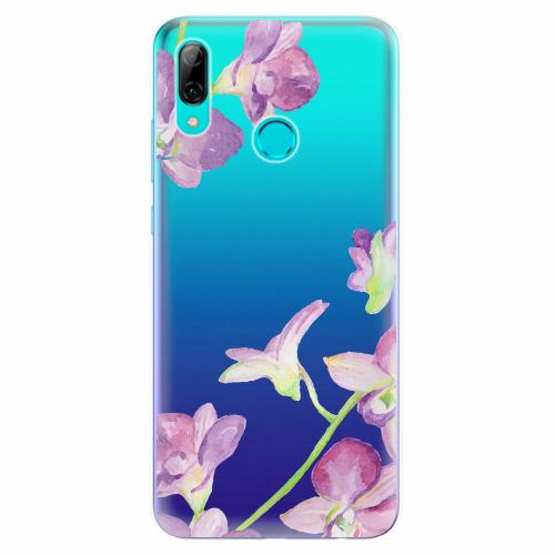 Silikonové pouzdro iSaprio - Purple Orchid - Huawei P Smart 2019