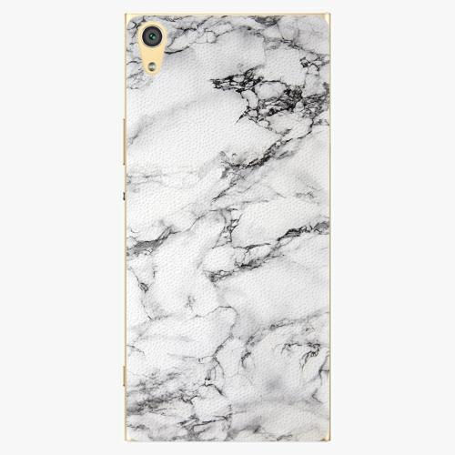 Plastový kryt iSaprio - White Marble 01 - Sony Xperia XA1 Ultra
