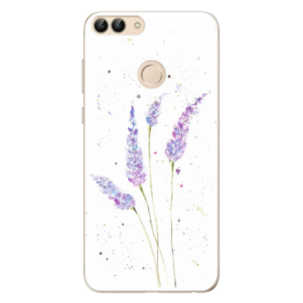 Odolné silikonové pouzdro iSaprio - Lavender - Huawei P Smart