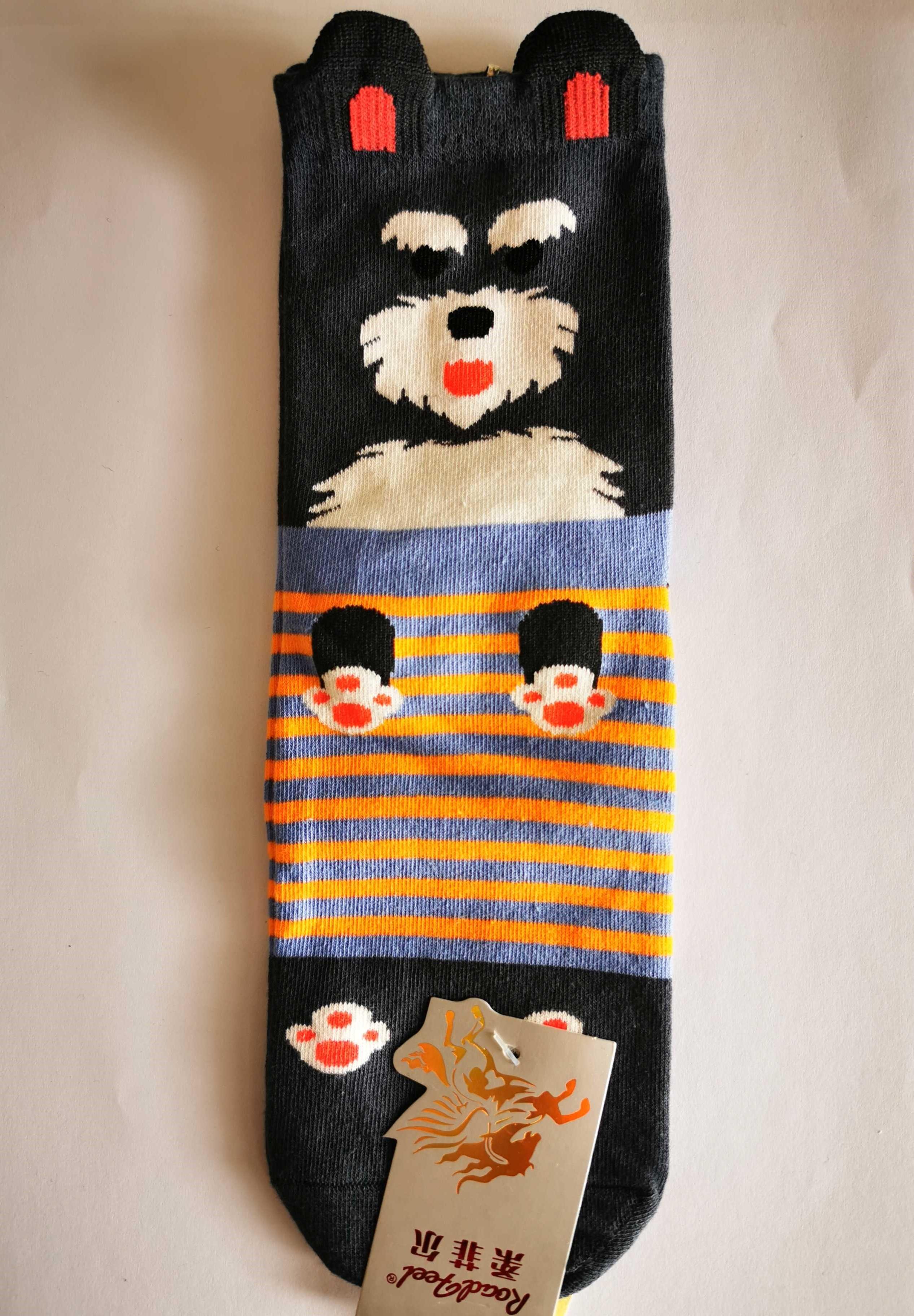 Ponožky s motivem zvířátek - Pejsek - vzor 6