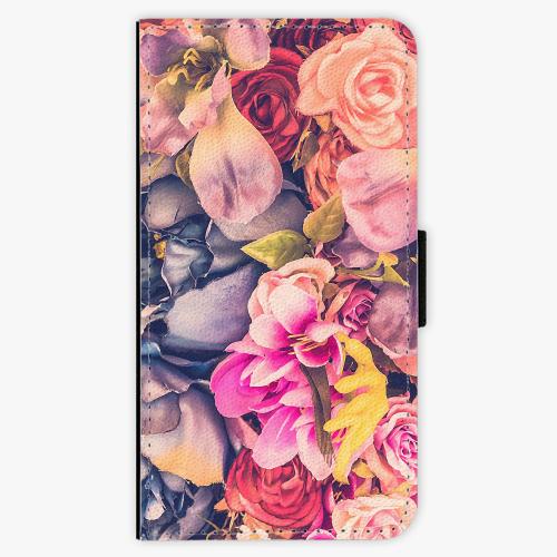 Flipové pouzdro iSaprio - Beauty Flowers - Samsung Galaxy J5