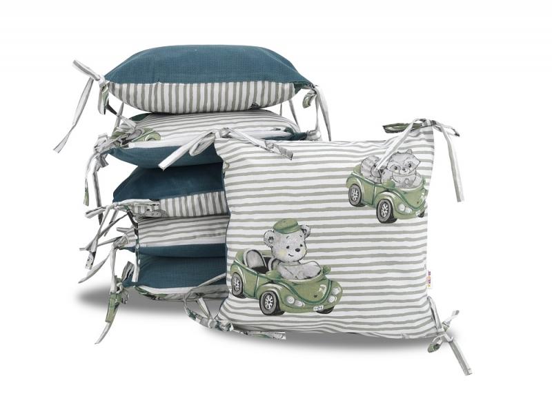 polstarkovy-mantinel-baby-nellys-baby-car-velvet-bavlna-zelena
