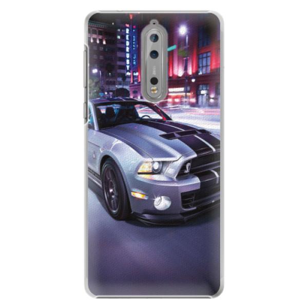 Plastové pouzdro iSaprio - Mustang - Nokia 8