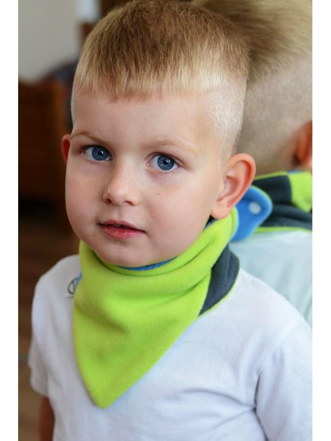 Dětský oboustranný fleecový nákrčník VG