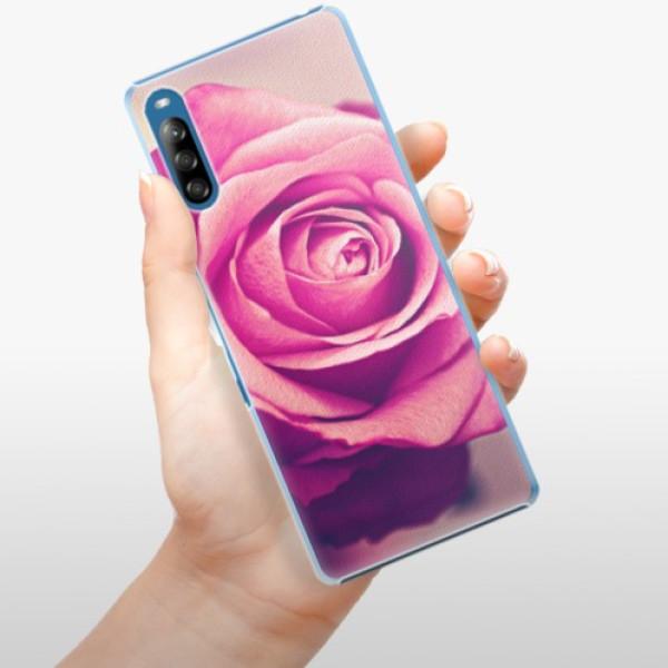 Plastové pouzdro iSaprio - Pink Rose - Sony Xperia L4