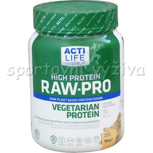Raw Pro Vegetarian Protein 700g-vanilka