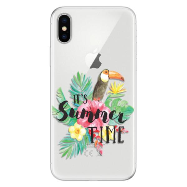 Silikonové pouzdro iSaprio - Summer Time - iPhone X