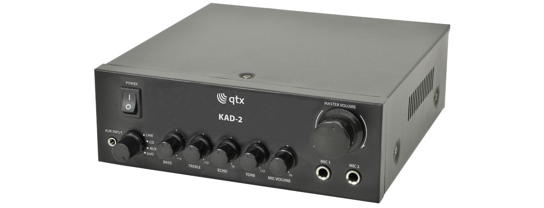 QTX KAD-2 digitální stereo zesilovač, 2x40W