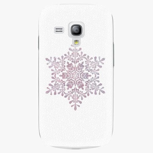 Plastový kryt iSaprio - Snow Flake - Samsung Galaxy S3 Mini
