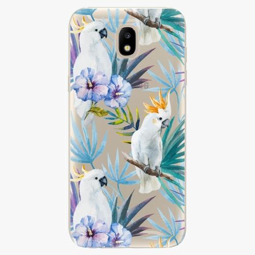 Silikonové pouzdro iSaprio - Parrot Pattern 01 - Samsung Galaxy J5 2017