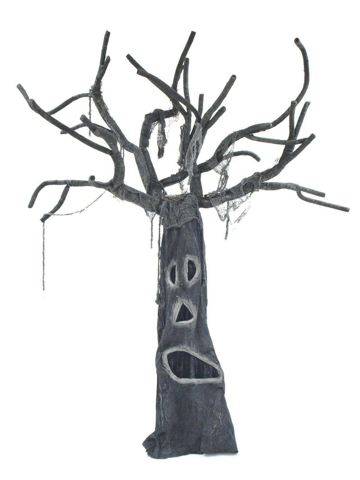 Halloweenský strašidelný strom