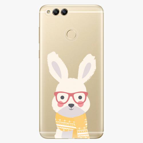 Plastový kryt iSaprio - Smart Rabbit - Huawei Honor 7X