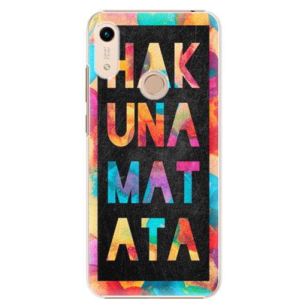 Plastové pouzdro iSaprio - Hakuna Matata 01 - Huawei Honor 8A