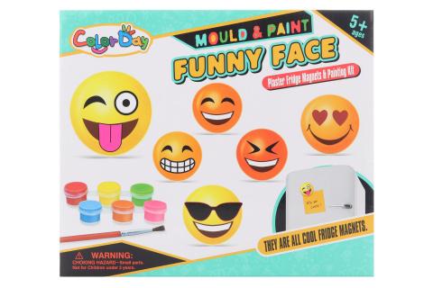 Výrobek ze sádry Emoji