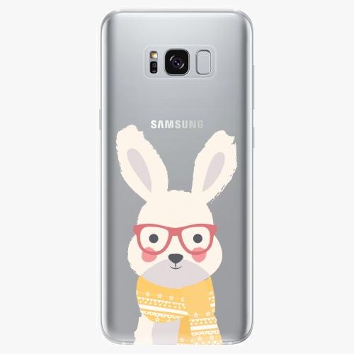 Silikonové pouzdro iSaprio - Smart Rabbit - Samsung Galaxy S8