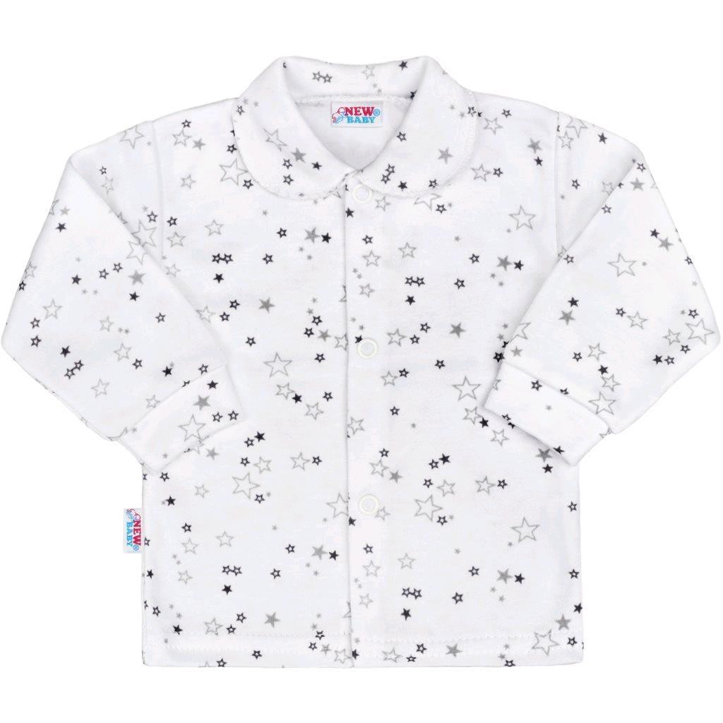 Kojenecký kabátek New Baby Magic Star šedý - šedá/74 (6-9m)