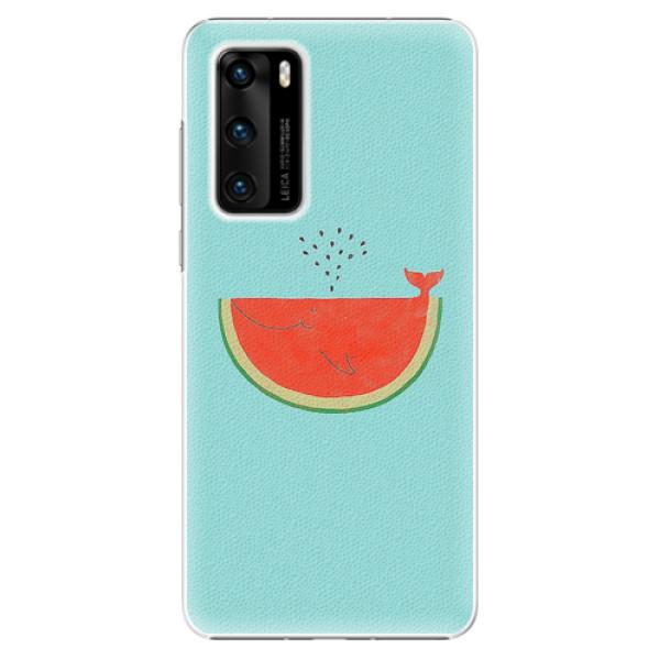 Plastové pouzdro iSaprio - Melon - Huawei P40