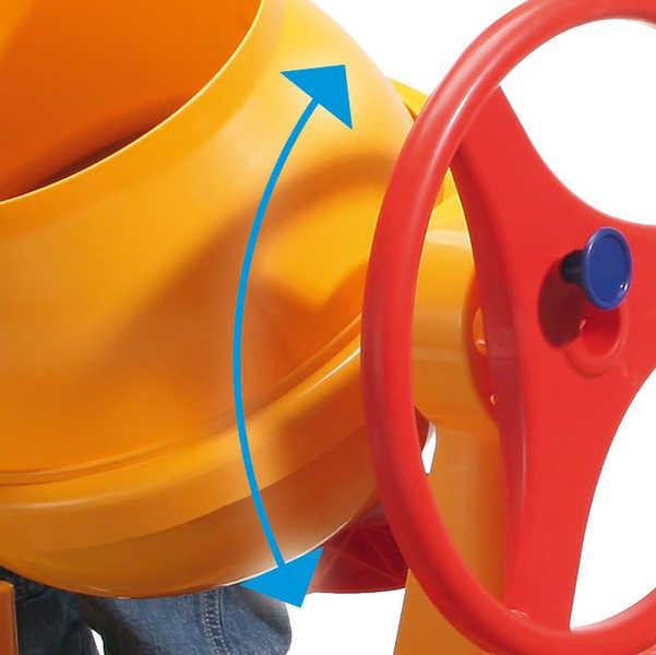 WADER Dětská míchačka Construct žlutá 50649
