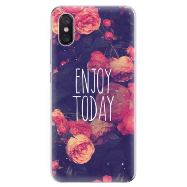 Odolné silikonové pouzdro iSaprio - Enjoy Today - Xiaomi Mi 8 Pro