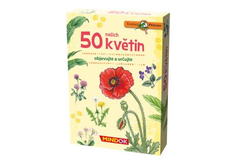 Expedice příroda: 50 květin