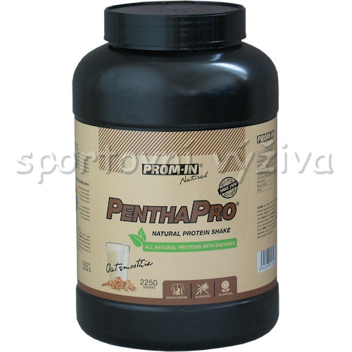 Pentha Pro Natural Protein Shake 2250g-oat-smoothie