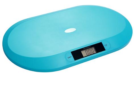 BabyOno Novorozenecká elektronická váha - tyrkysová