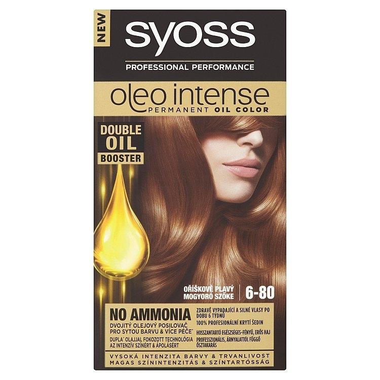 Oleo Intense barva na vlasy Oříškově Plavý 6-80