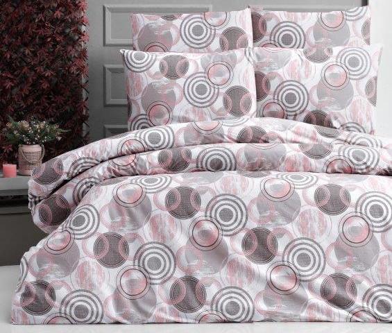 Krepový povlak na polštář Orlando pink skladem 7 ks, Výběr rozměru: 40x40