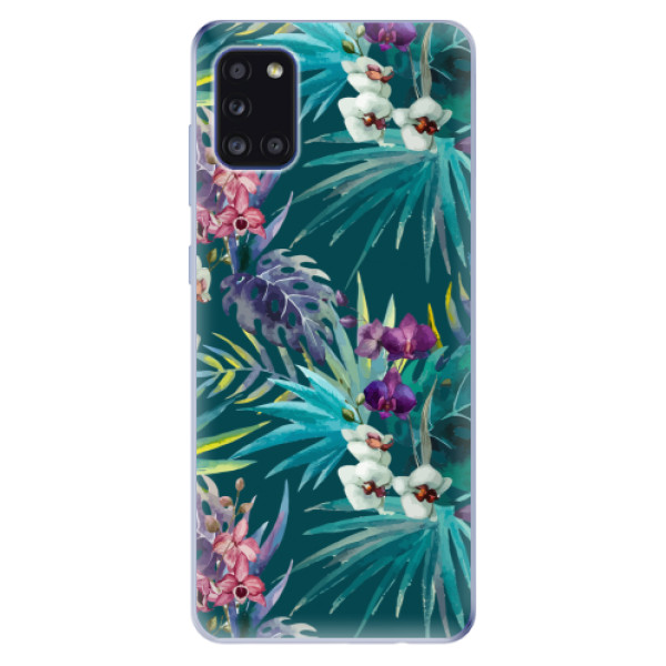 Odolné silikonové pouzdro iSaprio - Tropical Blue 01 - Samsung Galaxy A31