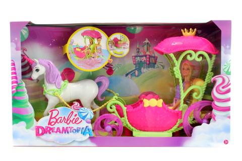 Barbie Kočár ze sladkého království DYX31 TV 1.9.-31.12.2017