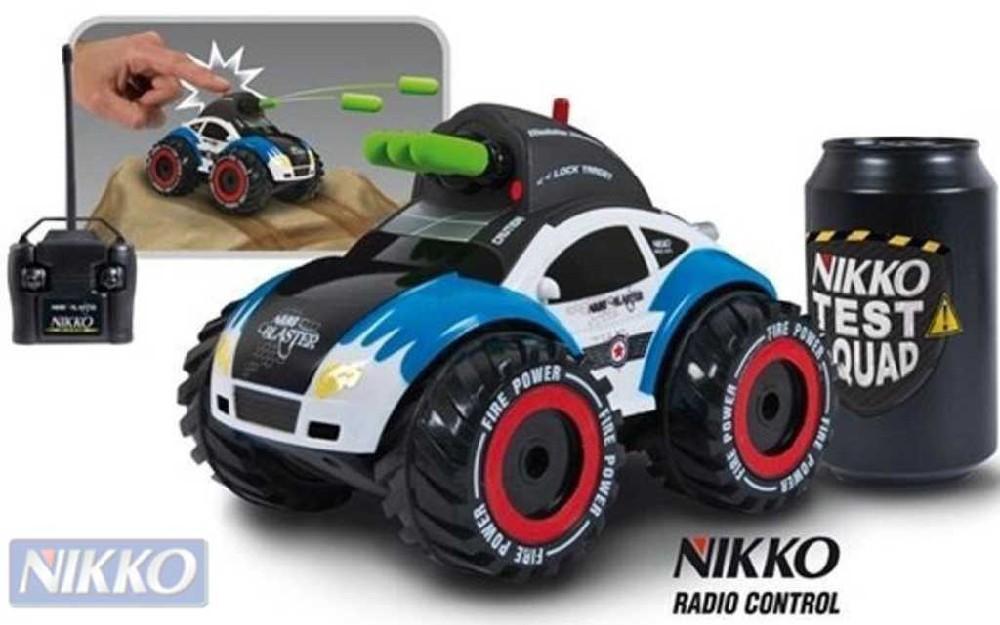 NIKKO RC Auto Nano Blaster na dálkové ovládání (vysílačku) - 2 barvy