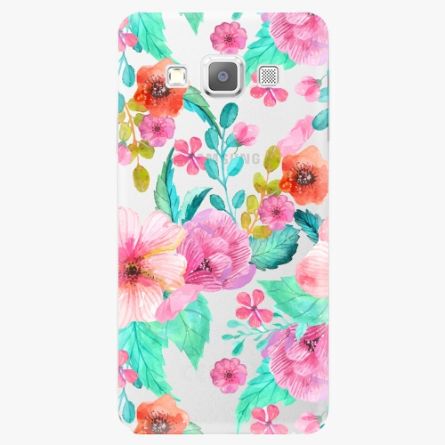 Plastový kryt iSaprio - Flower Pattern 01 - Samsung Galaxy A7
