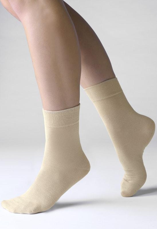 Bambusové ponožky GINA 82000P Bamboo klasické tělové