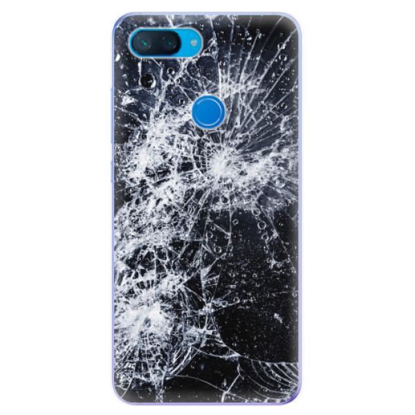 Odolné silikonové pouzdro iSaprio - Cracked - Xiaomi Mi 8 Lite