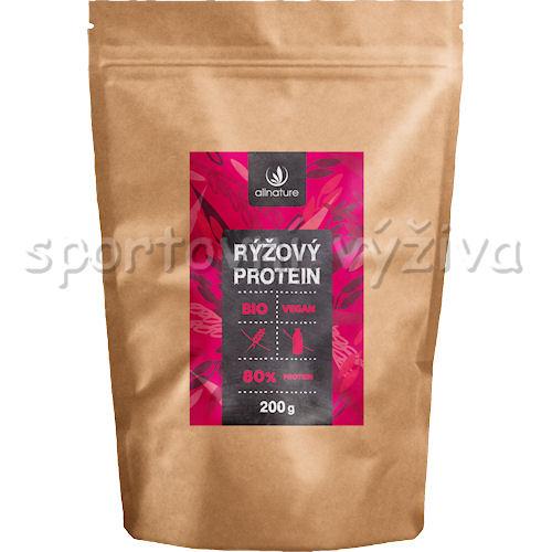 Allnature BIO Rýžový Protein 80% 200g