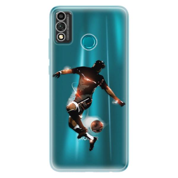 Odolné silikonové pouzdro iSaprio - Fotball 01 - Honor 9X Lite