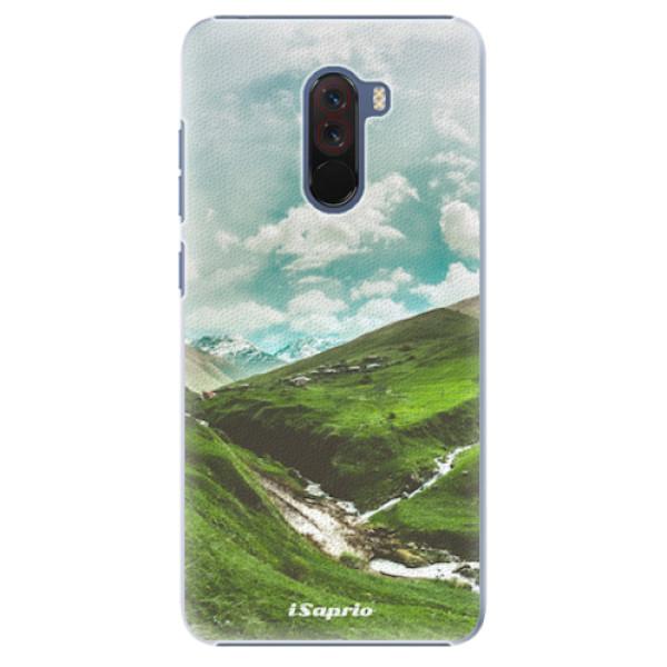 Plastové pouzdro iSaprio - Green Valley - Xiaomi Pocophone F1