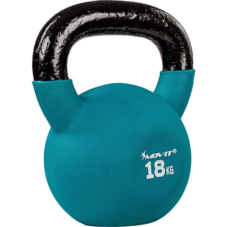 Kettlebell činka neoprenová - 18 kg